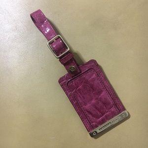 🌻VS Travel ID Tag Faux Croc Belt for Suitcase Bag